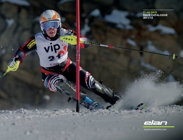 ELAN SKIS RACE CATALOGUE 2011/12 - INA Sport