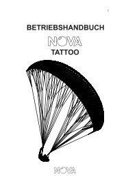 BETRIEBSHANDBUCH TATTOO - Nova Paragliding