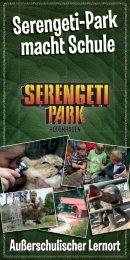Serengeti-Park macht Schule