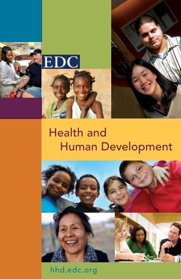 Health and Human Development - Education Development Center ...