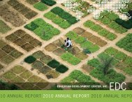 EDC Annual Report 2010 - Education Development Center, Inc.