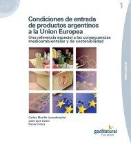 Condiciones de entrada de productos argentinos a la Union Europea