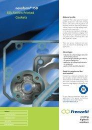 novaform® FSD Silk-Screen Printed Gaskets - Frenzelit Werke GmbH