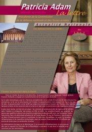 Patricia Adam - Fédération du Finistère du Parti socialiste
