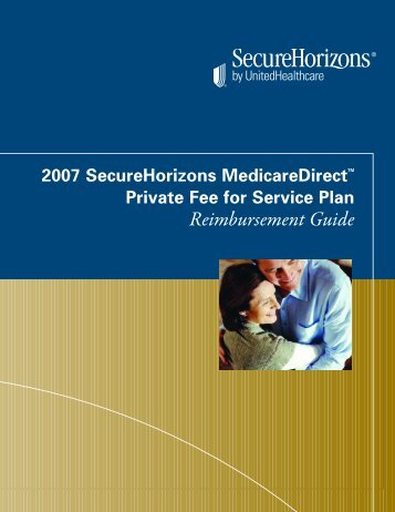 Secure Horizons Direct Reimbursement Guide - Altpho.org
