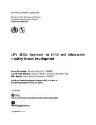 Life Skills - Health and Human Development