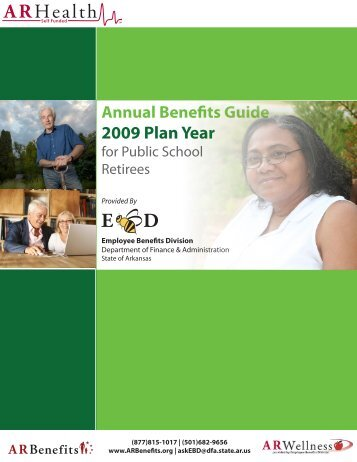2009 Plan Year - Schedule of Benefits - Health Advantage