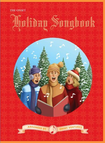 Holiday Songbook - ONSET Ventures