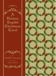 A Venture Capital Christmas Carol - ONSET Ventures