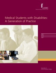Medical Students with Disabilities: A Generation of Practice - AAMC