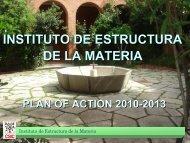 STRATEGIC PLAN/IEM - Instituto de Estructura de la Materia