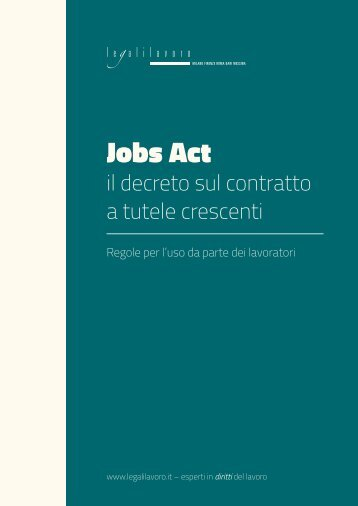 Legalilavoro-JobsAct-commento