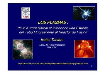 Plasma, el cuarto estado de la materia