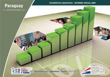 Publicación 2009 Datos Preliminares - Ministerio de Educación y ...