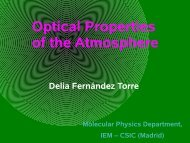 Optical Properties of the Atmosphere