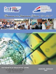 Estadística Educativa 2008 - Ministerio de Educación y Cultura