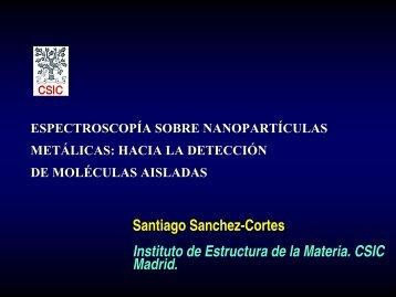 Espectroscopía sobre nanopartículas metálicas - Instituto de ...