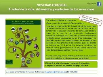 NOVEDAD EDITORIAL El árbol de la vida: sistemática y evolución ...