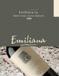 MEMORIA EMILIANA 2006 2.indd