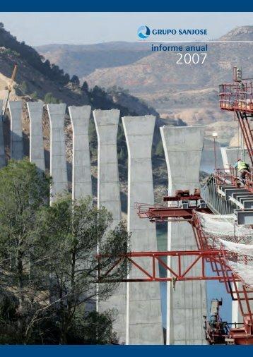 Informe Anual 2007 - grupo sanjose