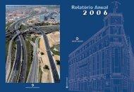 Relatório Anual 2006 - grupo sanjose