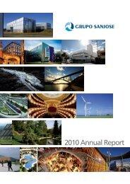 2010 Annual Report - grupo sanjose