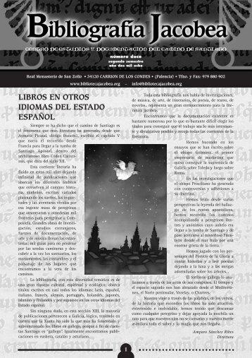 libros en otros idiomas del estado español - Biblioteca Jacobea