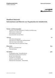 Handbuch Basisstufe Informationen und Hinweise zur Organisation ...