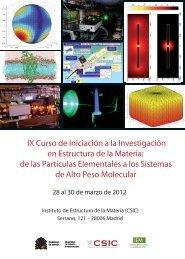 Cartel - Instituto de Estructura de la Materia