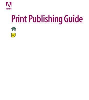 Print Publishing Guide - WebUnie