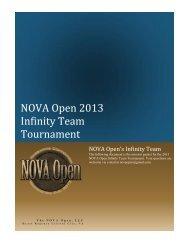 NOVA Open 2013 Infinity Team Tournament
