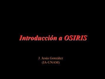 Introducción a OSIRIS - CIDA