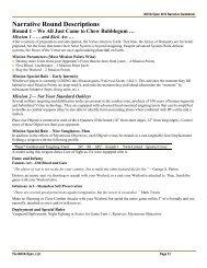 DC Narrative Guidebook - NOVA Open