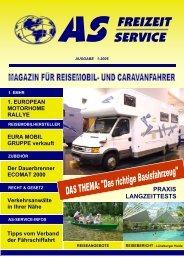 PRAXIS LANGZEITTESTS - AS Freizeit Service