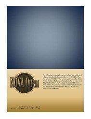 NOVA Open 2013 40k GT and Invitational Primer