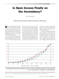 Is Open Access Finally on the Ascendancy? - Recolecta