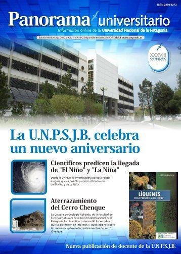Panorama universitario - Universidad Nacional de la Patagonia San ...