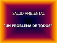 Salud Ambiental: un problema de todos.
