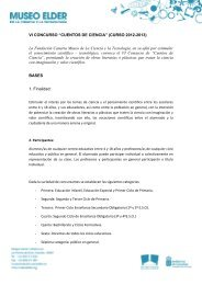 """IV CONCURSO """"CUENTOS DE CIENCIA"""" (CURSO ... - ComCiRed"""