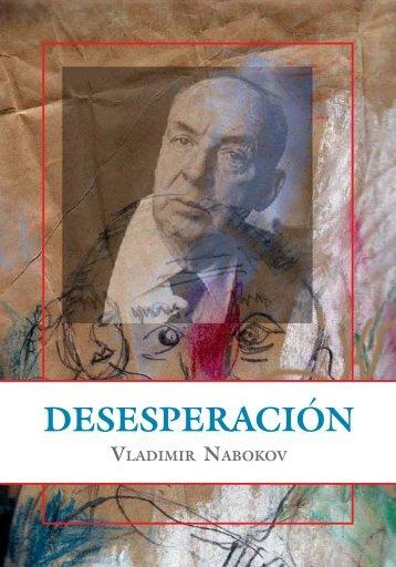 vladimir nabokov desesperacion