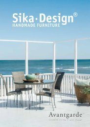 Sika Design Avantgarde Collection Catalog