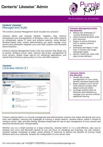 Centeris Likewise Admin Datasheet.pdf - Purple Rage