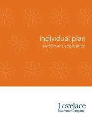 individual plan - Lovelace Health Plan