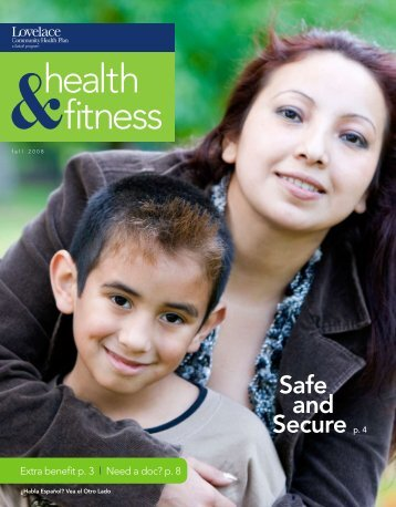 health fitness - Lovelace Health Plan