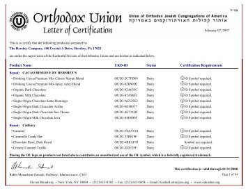 Letter Of Certification Tootsi Impex Inc
