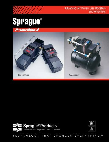 PowerStar™ 4 Boosters - SpraGue Products