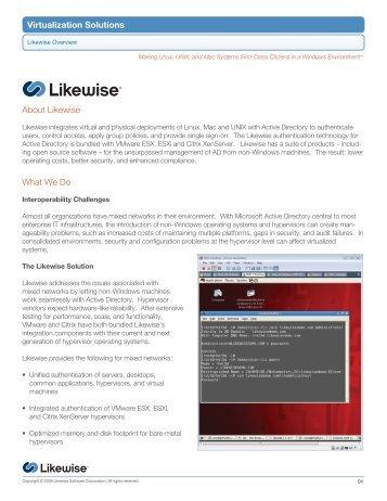 Virtualization Solutions Datasheet - Purple Rage