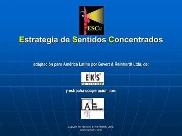 ESC© Estrategia de Sentidos Concentrados - Gestiopolis