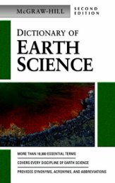 McGraw-Hill Dictionary of Earth Science Second Edition - SEGEMAR