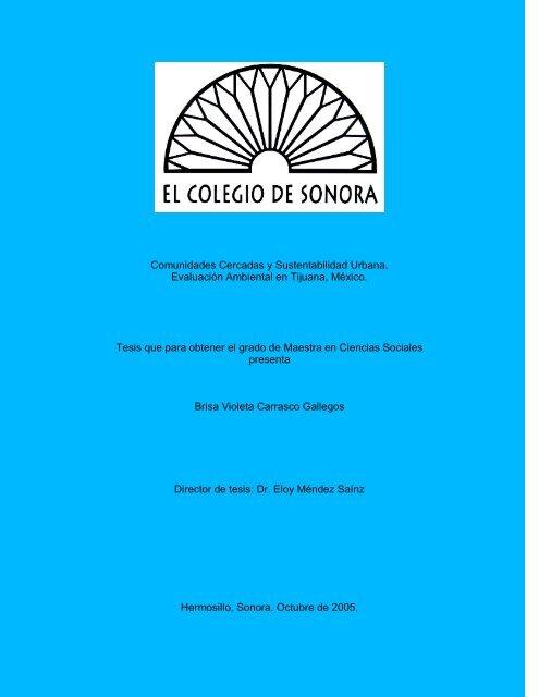 Comunidades Cerradas Y Sustentabilidad Urbana Topofilia